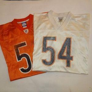 2 Urlacher jerseys